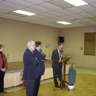 Vœux du Maire 2007