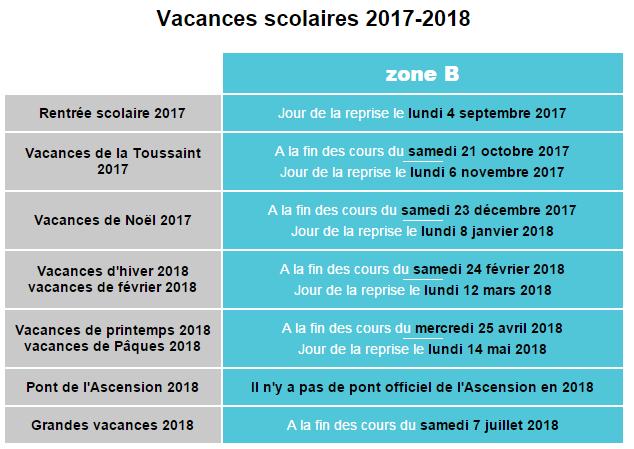 2018 01 26 17 47 01 vacances scolaires orleans 2017 2018