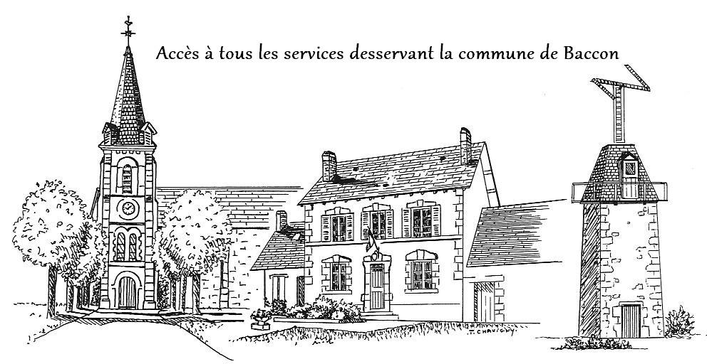 Logo baccon services